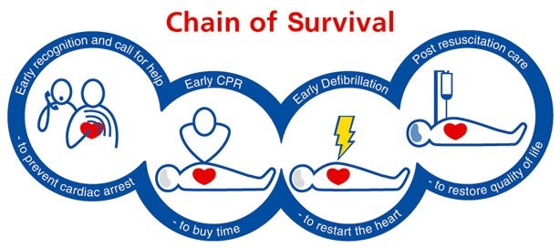 BLS Basic Life Support - Chain of Survival