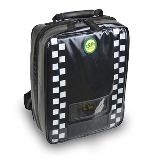 Black Parabag Backpack from SP Services