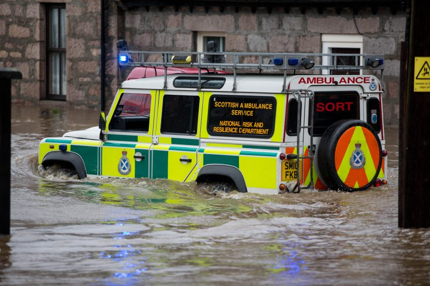Emergency Services prepare for Hurricane Ophelia