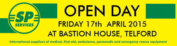 Friday 17th April - SP Open Day!