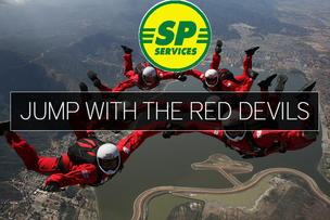 Team SP Services Skydive for ABF Soldiers Charity
