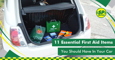 11 First Aid Items You Should Have In Your Car