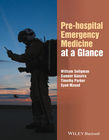 Pre-Order your copy of Pre-Hospital Emergency Medicine at a Glance