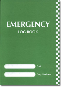 incident log book template