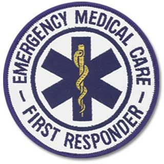 Emblem Patch - Star of Life - First Responder