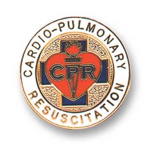 Lapel Badge Car-Pulmon Resus