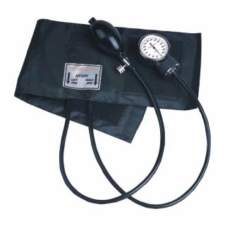 ClipOn Twin Tube Aneroid Sphyg Black