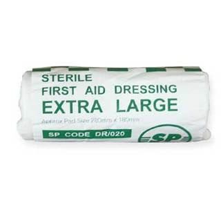 XLarge Sterile HSE Flow Wrapped Dressing - 28 x 18cm