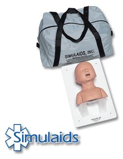 Airway Management Trainer - Paediatric - with Carry Bag
