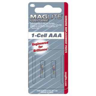 Mag-Lite 1 Cell Solitaire - Spare Bulbs X 2