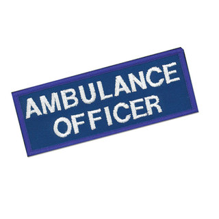 Cloth Badge - Ambulance Officer