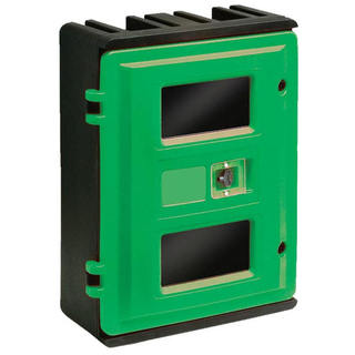 Wall Mounted Aed Lockable Plastic Storage Cabinet With Alarm