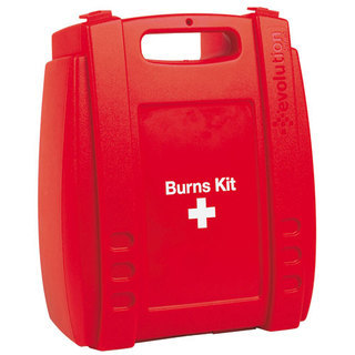 Evolution Burns Kit - Medium - In Red Plastic Box