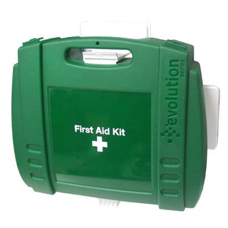 Hotel First Aid Kit in Large Green Evolution Box