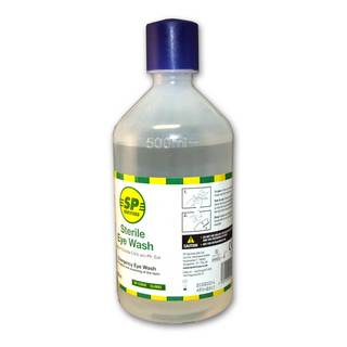 SP Sterile Eye Wash Solution 500ml - Single Bottle