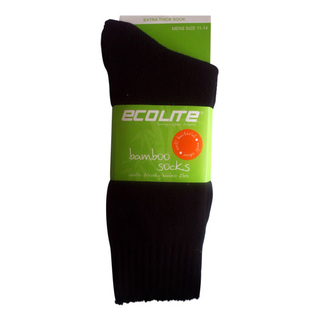 Ecolite Bamboo Socks - Tactical Black