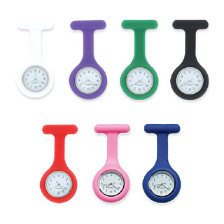 Silicone Nurses Fob Watch - Analogue