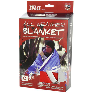 Reusable All Weather Foil Space Blanket