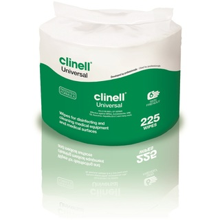 Clinell Universal Disinfectant Wipes - Bucket of 225 Refill Pack
