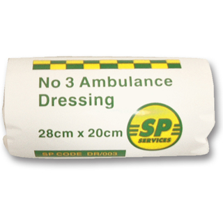 No 3 Ambulance Dressing SINGLE