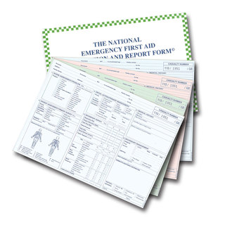 First Aid Form - Patient Report Forms