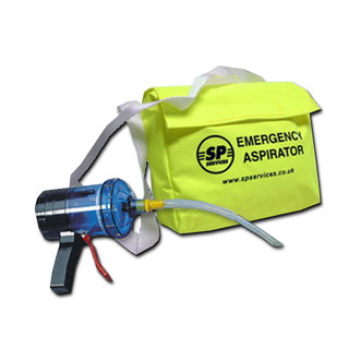 Vitalograph Aspirator With Yellow Carrying Bag