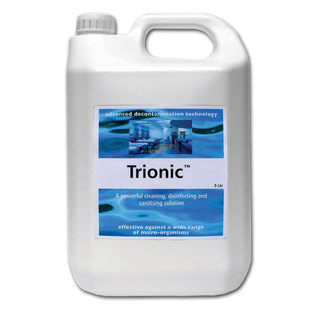 Ebiox Trionic Concentrated Cleaning Solution - 5 Litre Drum