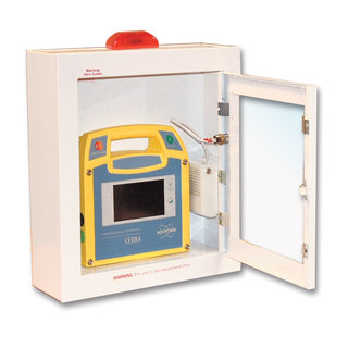 Lifestart Wall Mounted AED Cabinet with Flashing Strobe Light