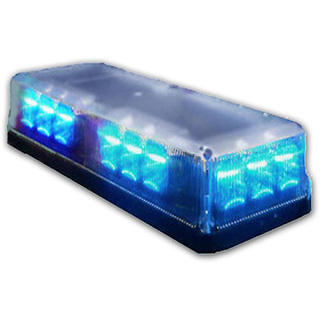 Alerte led magnetic mini lightbar blue aloadofball