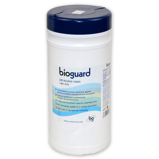 Bioguard Alcohol Wipes - Drum of 240