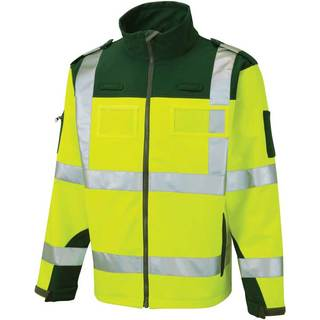 Ambulance Soft Shell Hi-Vis Jacket - Yellow/Green