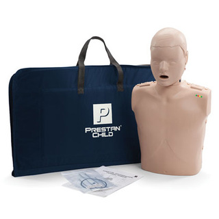 Prestan Child Manikin with CPR Rate Monitor - Inc 10 Lung Bags