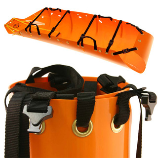 Sked SK200 Basic Rescue System - International Orange with Cobra Buckles