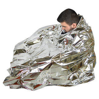 SP Foil Space Blanket - Silver - Adult Size