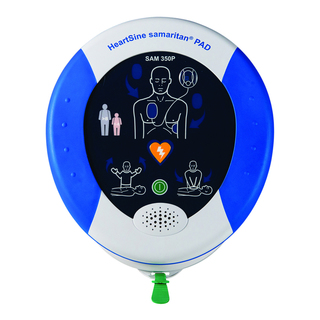 HeartSine Samaritan PAD Defib 350P Unit - Semi Automatic