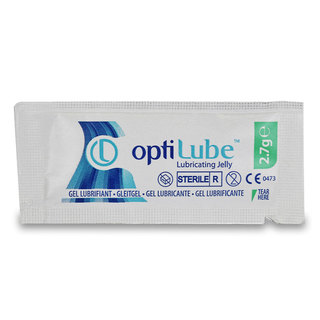 Optilube Lubricating Jelly - 2.7g Sachet