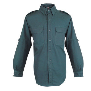 Bastion Tactical Long Sleeve Shirt - Midnight Green - M