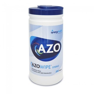 Azowipe Bactericidal Wipes - Drum of 200 Wipes
