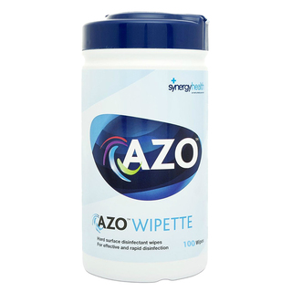 Azowipette Bactericidal Wipes - Drum of 100 Wipes