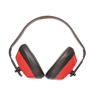 Ear Defenders Classic Headband - Red
