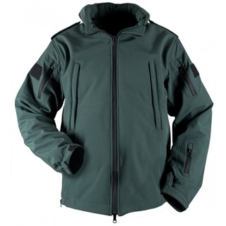 Bastion EMS Tactical Soft Shell Jacket in Midnight Green