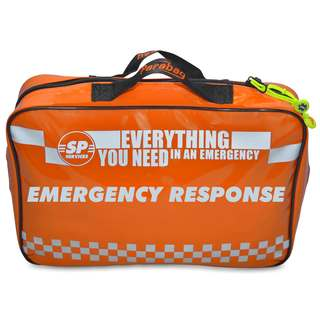 Emergency Response Kit Bag in Orange TPU