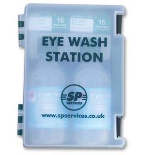 Double Eye Wash Station - Empty