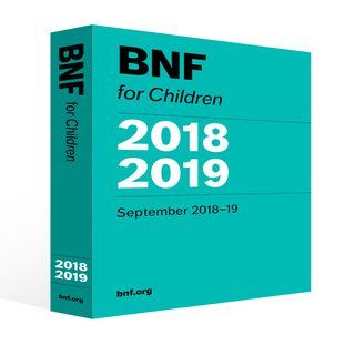British National Formulary (BNFC) for Children - 2018/19