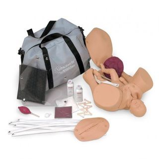Simulaids Obsterical Manikin with Carry Bag