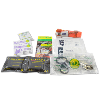 BS 8599-1:2019 Compliant Workplace First Aid Kit Refill - Critical Injury