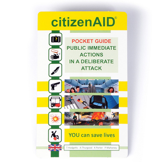 The citizenAID Pocket Guide - Revised and Enhanced 2019