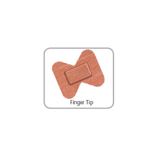 Microplast Fabric Fingertip / Butterfly Plasters (Box 50)