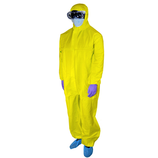 Disposable Protective Coverall -Size: 2XL