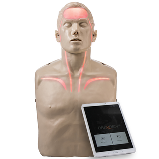 Brayden Pro CPR Manikin with RED Illumination (Now iOS Compatible)